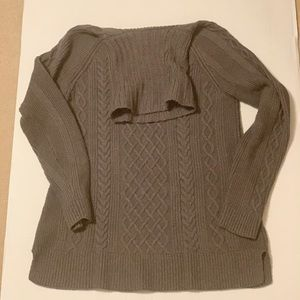 Talbots chunky knit turtleneck sweater size medium